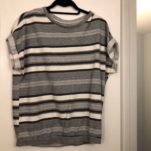 Anthropologie Stripped Sweater Shirt